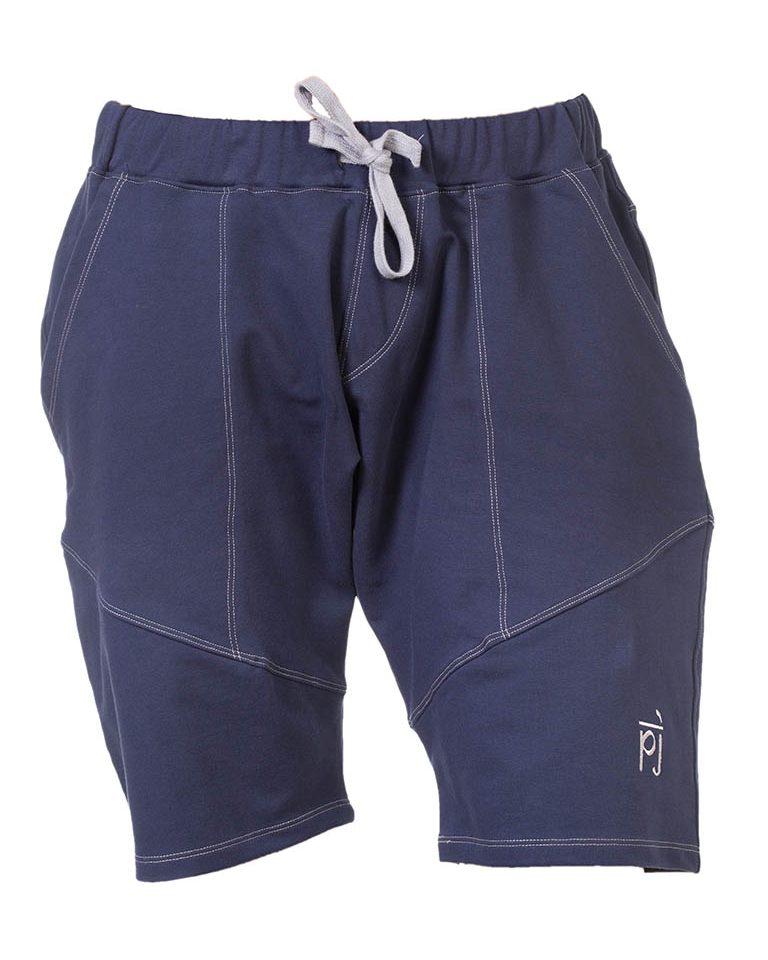 Yoga Shorts blau
