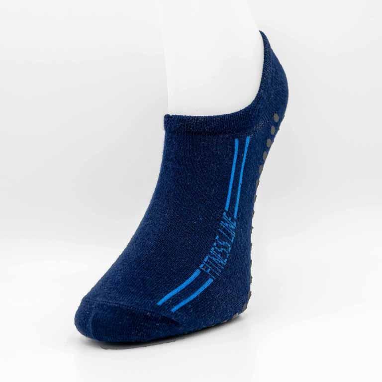 Socke blau